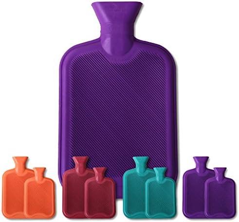 Arsvita Wärmflaschen lila - violett 1 Liter
