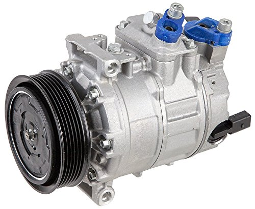 Brand New Premium Quality AC Compressor & A/C Clutch For VW Volkswagen And Audi - BuyAutoParts 60-02038NA New (Vw Passat Ac Compressor compare prices)