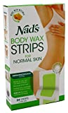 Nads Hair Removal Strips 24 Count For Body (3 Pack)