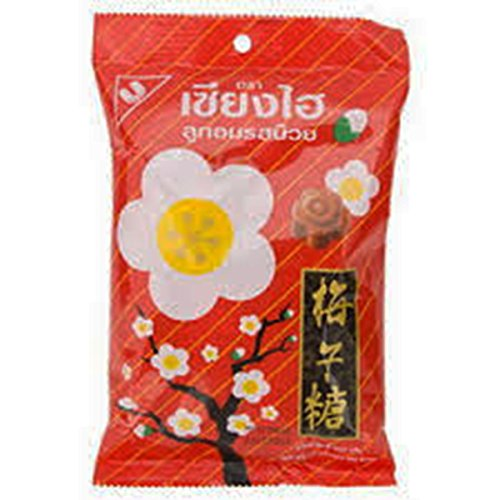 Shanghai Plum Candy 120g. Product of Thailand (Hot Dollar Costumes)
