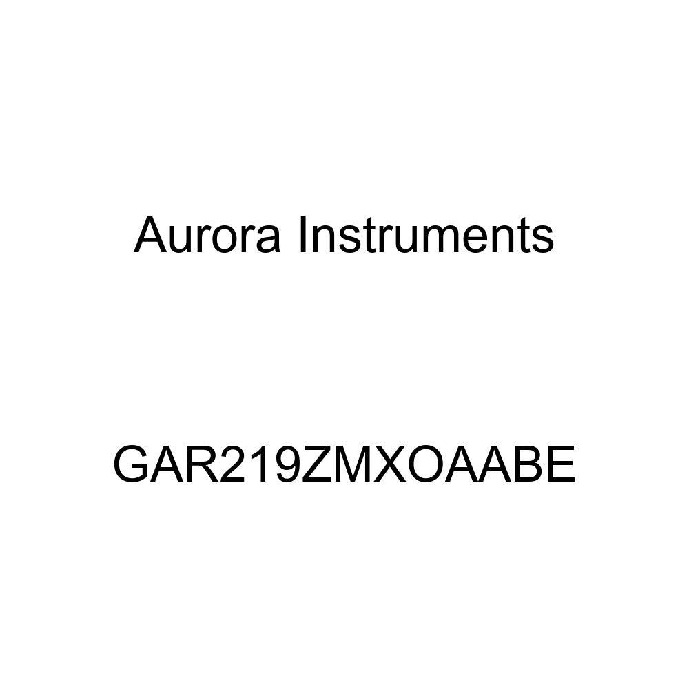 Aurora Instruments GAR219ZMXOAABE Modern Rodder Tan Clock Gauge