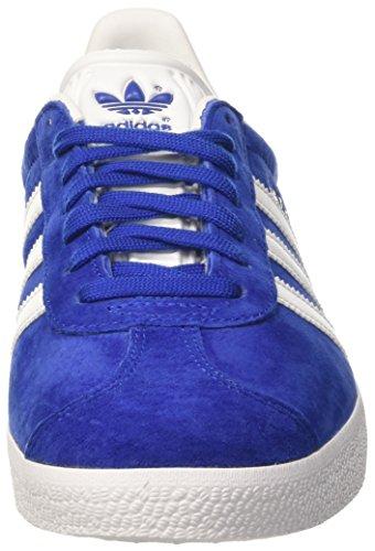 adidas Zapatillas Azul de Metallic Gazelle White Collegiate Deporte Gold Royal Unisex Adulto 5rA5xw