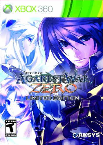 Record of Agarest War Zero Limited Edition -Xbox 360
