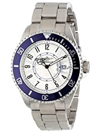 Breytenbach Unisex BB2810BL Classic Analog Colored Bezel Watch