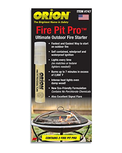Orion Safety Products 747 Fire Pit Pro (Pack of 2)