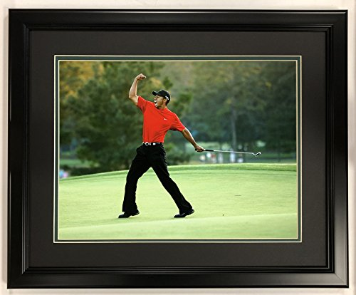 Tiger Woods Framed Pictures - Legends Never Die Tiger Woods - 2005 Masters Champion - 18