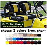 Up To Par Covers @ Amazon.com Baylor Golf Cart Seat Covers on
