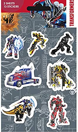 Pack de pegatinas Transformers 4 Mix (Vinyl): Amazon.es: Hogar