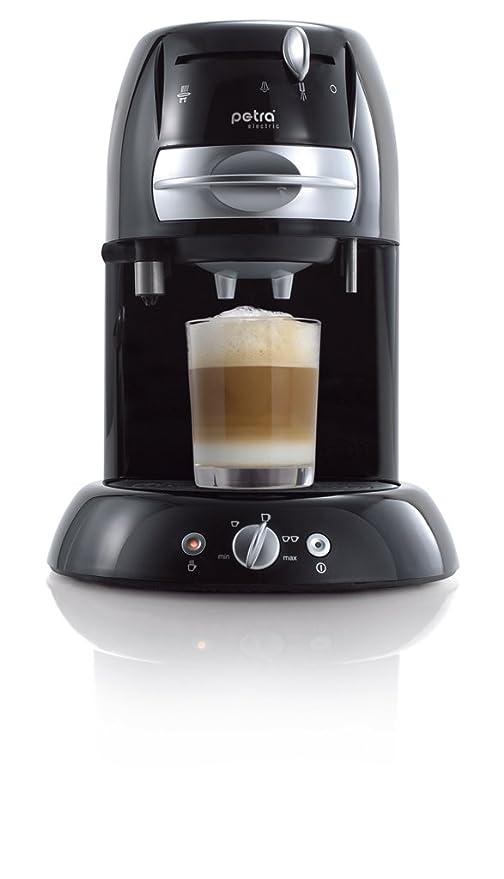 Petra KM 42.17 Coffee pad maker, 1600 W, 1.3 litros, Negro