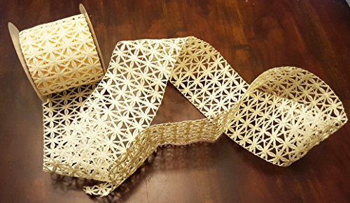 (Straw Cut-out Ribbon 4