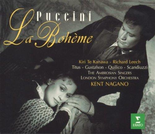 Puccini: La Boheme by Erato Disques