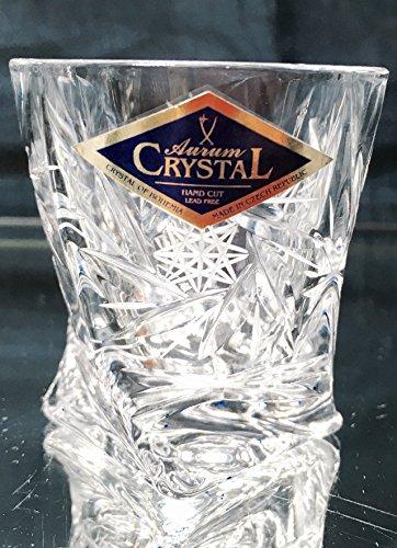 - BOHEMIA CRYSTAL SHOT GLASSES 2oz. SET OF 6 HAND CUT CRYSTAL GLASS SHOTS for VODKA WHISKEY CORDIAL LIQUEUR SHERRY BRANDY COGNAC ELEGANT VINTAGE EUROPEAN DESIGN CLASSIC CZECH CRYSTAL GLASS