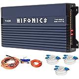 Hifonics TMA-800.5 800 Watt 5-Channel Marine Boat ATV/UTV/RZR Amplifier+Amp Kit