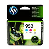 HP 952 Cyan, Magenta & Yellow Ink Cartridges, 3 Cartridges (L0S49AN, L0S52AN, L0S55AN): more info