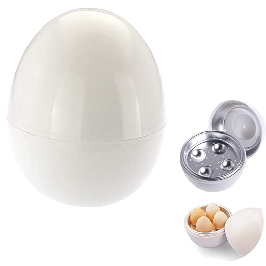 Ouken Caldera microondas Huevo microondas para cocinar Huevos Mini ...