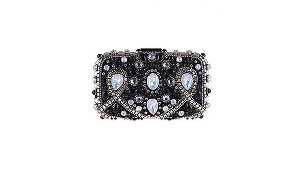 KERVINJESSIE Women Pearl Handbag Ball Clutch Purse Evening Party Dress Bag