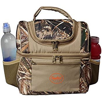 Amazon Com Camo Lunch Box Insulated Double Decker Cooler