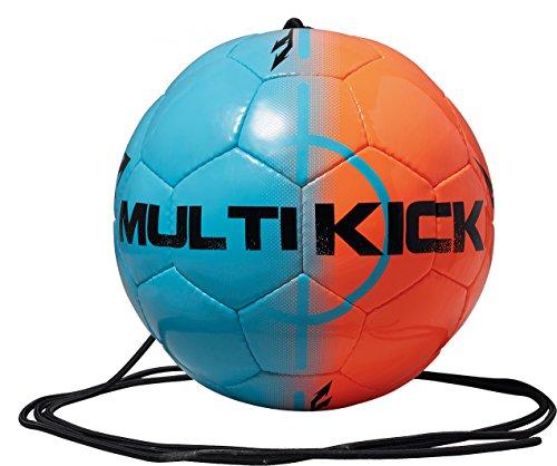 Derbystar Fußball Multikick, Blau/Orange, 5, 1067500760