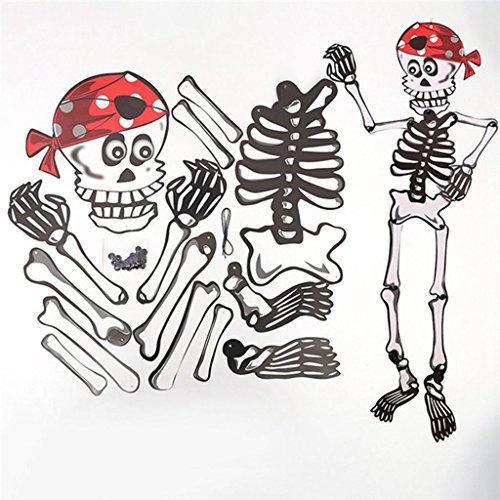 Paper Doll Halloween Costume For Adults (Ltg Halloween DIY Paper Skull Ghost Hanging Pumpkin Pendant Ornament Door Wall hanging Decoration)