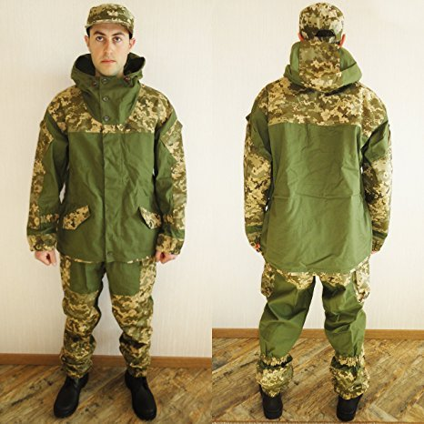 Ultra New Rare Russian Army Spetsnaz Camo Uniform Gorka Set BDU Suit Size 3XL or 56 for Europe