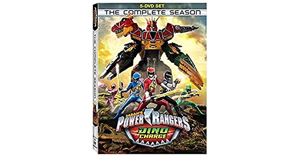 Amazon.com: Power Rangers: Dino Charge - The Complete Season ...