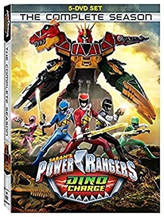 Power Rangers Dino Charge: The Complete Season 5 Dvd ...