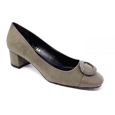 6Carina - Zapatillas para mujer Beige barro