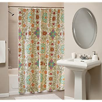 Nice Greenland Home Esprit Spice Shower Curtain
