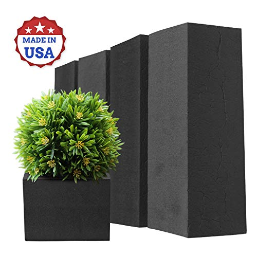 4 Pack Reusable Floral Foam for Artificial Flowers, Water and Weather Resistant, Extremely Versatile Closed Cell Neoprene Rubber, Great for Both Indoor and Outdoor Applications, Made in USA