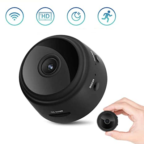 OOLIFENG Cámara Oculta 1080P HD Mini cámara de Seguridad, Cámara antirrobo con visión Nocturna y