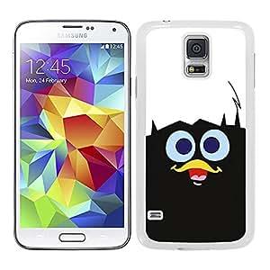 Funda carcasa TPU (Gel) para Samsung Galaxy S5 diseño pollito con cascara de huevo borde blanco