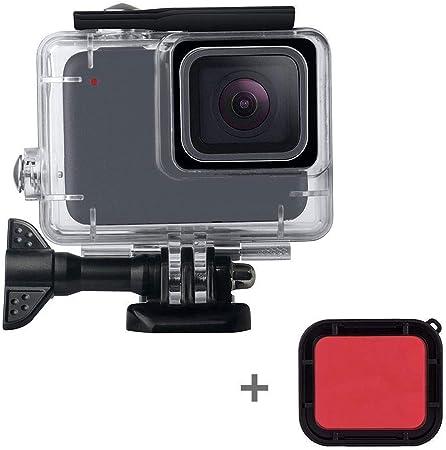 Estuche para cámara portátil y práctico Carcasa resistente al agua for GoPro Hero 7 Blanco / Plata,