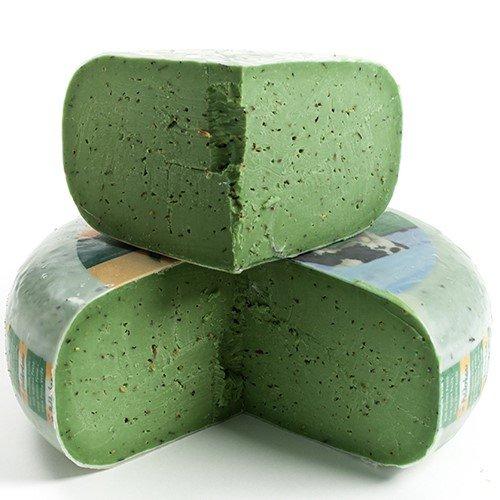 igourmet Green Pesto Gouda - Pound Cut (15.5 ounce) Green Pesto Pasta