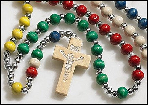 Value Priced Wood Mission Rosary ()