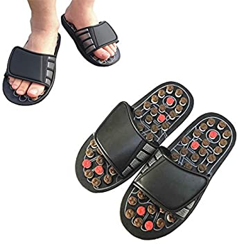 Amazon com : New Rotating Health Shoes Foot Massage Slippers