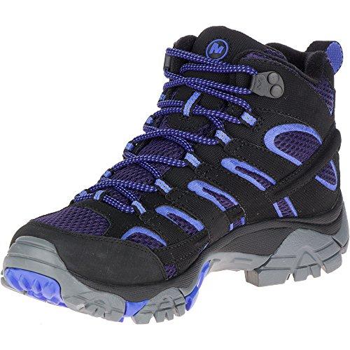 Black 2 Mid de Merrell Hautes Randonnée Chaussures GTX Baja Femme Moab gqxw5xz4nB