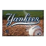 FANMATS 19040 Team Color 19' x 30' New York Yankees Scraper Mat (MLB Ball)