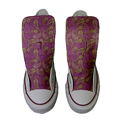 Converse Handmade zapatos Producto Star All Decor Paisley personalizados wa481qfxna