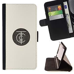 Momo Phone Case / Flip Funda de Cuero Case Cover - Logo Beige Rétro - Motorola Moto E ( 2nd Generation )