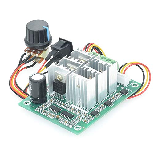 Sydien 5-36V DC 15A Motor speed Controller Reversible PWM Control Forward/Reverse Switch Pump Speed Controller
