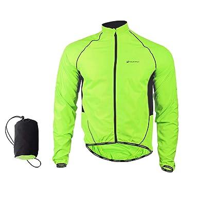 c0e5a7983 LightInTheBox Cycling Jacket Men s Long Sleeve Bike Waterproof Windproof Front  Zipper WearableJacket