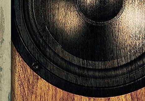 murando Cuadro Ac/ústico m/úsica Vintage Vendimia 90x60 cm XXL Impresi/ón Art/ística 3 Piezas Lienzo de Tejido no Tejido Estampado Decoraci/ón de Pared Aislamiento Absorci/ón de Sonidos i-B-0018-b-e