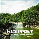 Kentucky 7 x 7 Mini Wall Calendar 2020: 16 Month Calendar
