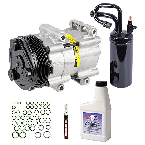 AC Compressor w/A/C Repair Kit For Ford Ranger Explorer Mazda B3000 B4000 Mercury Mountaineer V6 - BuyAutoParts 60-80126RK New
