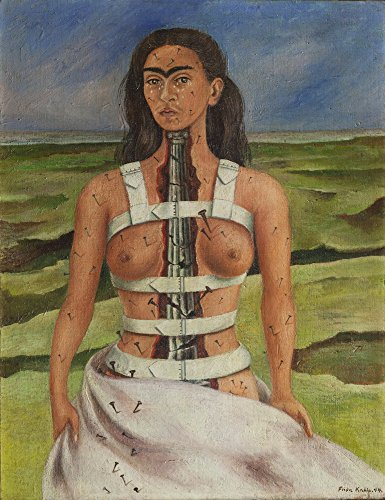 Frida Kahlo Giclee Canvas Print Paintings Poster Reproduction(The Broken (Frida Kahlo Costumes)