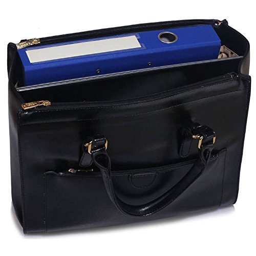 Style Xardi Handbags 2 Work Black Ladies Shoulder Women Bags Leather Travel Style College Large New London IqwrZ7I