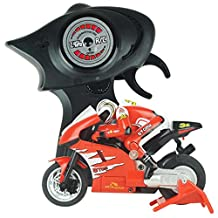 Boddenly 2.4G 3CH RC Radio Remote Control Motorcycle (Red)