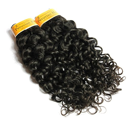 Moreyoungc Peruvian Virgin Human Hair Italian Curly Weave Weft Unprocessed Natural Color Can Be Dyed Hair Extensions 1 Bundles 100g (24 - Usps How Much Cost Shipping