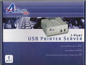 Amazon.com: AirLink 101 apsusb1 1-Port USB servidor de ...