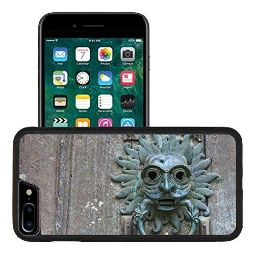 Durham Crystal - Liili Apple iPhone 7 plus iPhone 8 plus Aluminum Backplate Bumper Snap iphone7plus/8plus Case Sanctuary knocker on the door of Durham Cathedral Photo 15569146